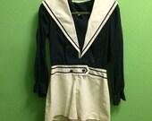 Howard Wolf sailor short suit romper - medium