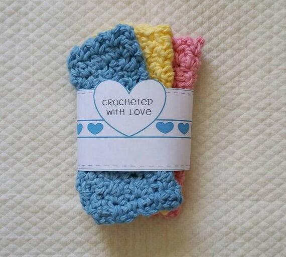 Crochet Dish Cloth Wraps