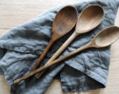 COLLECTION of 3 Vintage Wooden Spoons