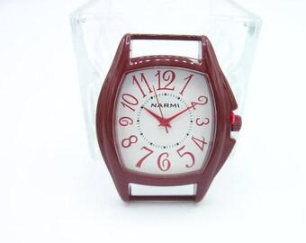 Ribbon Watch Face - Burgundy