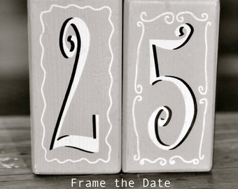25 photo, NUMBER DATE PHOTOGRAPHY, numbers Custom Date - Wedding Date -Anniversary Date - Number 25- Number Photo Art - Date Photography