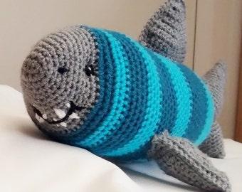 Socrates Shark PDF Crochet Pattern