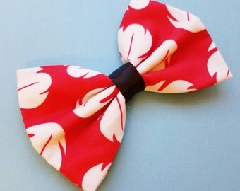 Lilo and Stitch // Lilo Inspired Disney Fabric Hair Bow. Perfect for Dress Up, Disneybound, and Cosplay. For Adults, Kids