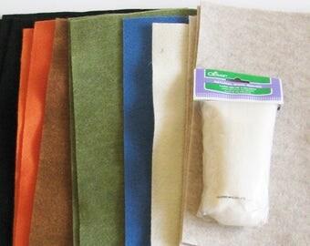 Felting Supplies,Felt, Wool Roving