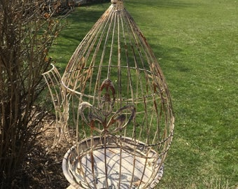 Vintage look birdcage for home Decore use