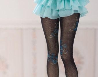 black High socks stockings  BJD
