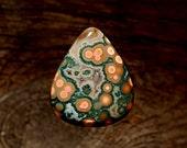 Ocean Jasper Cabochon, Designer Cabochons Handmade by MagicStones.