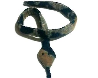 Fleece Catnip Snake Cat Toy