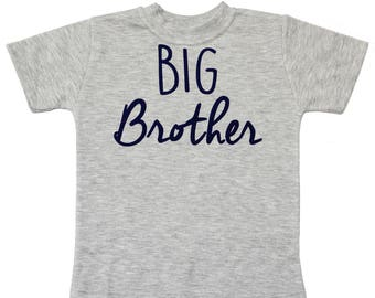 Big Brother Shirt - Boy Baby Shower Gift - Little Brother Shirt - Big Bro Little Bro Shirts