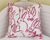 Groundworks Bunny Hutch Designer Pillow Cover - Square, Lumbar and Euro Sizes