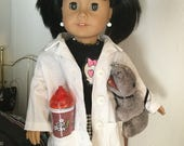 Abby Scuito NCIS American girl RARE retired doll with custom clothes