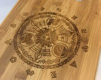Legend of Zelda Bamboo Cutting Board-Medium