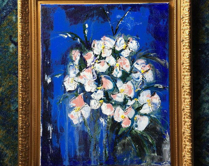 "Flourish - Original Acrylic Painting 16"" x 20"""