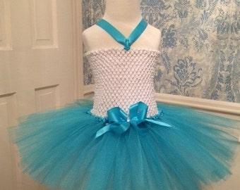 Turquoise Tutu Dress - Party Tutu - Blue Tutu