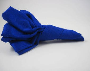 Boutonniere - royal blue - wedding - groom - groomsmen - wedding accessory