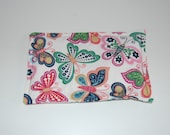 SALE, Rice Heating Pad / Ice Pack, 5 X 8 Butterfly