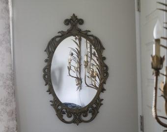SHOP SALE Vintage Syroco Style Mirror