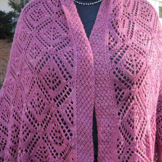 How to Knit Traditional Estonian Lace Shawl with Nancy ...