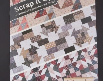 Moda - Scrap It Up! AQD 0407 Antler Quilt Designs Book