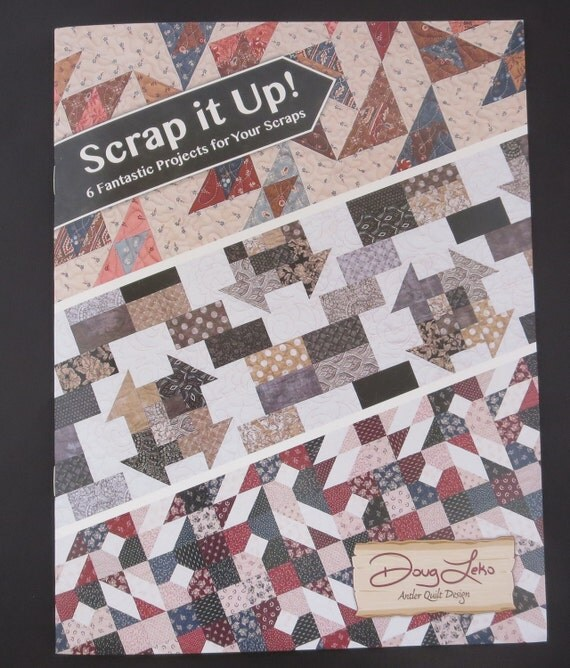 Moda - Scrap It Up! AQD 0407 Antler Quilt Designs Book