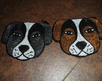 Vintage Dog Coin Purses by Lee Sands
