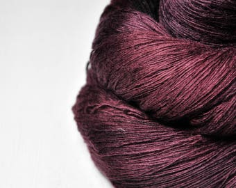 Bloodstained -  Merino/Cashmere Fine Lace Yarn