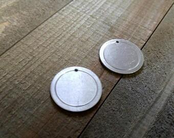 Metal Stamping Blanks Hand Stamping Blanks Circle Blanks Aluminum Blanks Aluminum Circle Border Blanks Silver Blanks Silver Circle Blanks 4