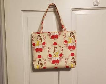 Junior Tote - Belle, Beauty and the Beast