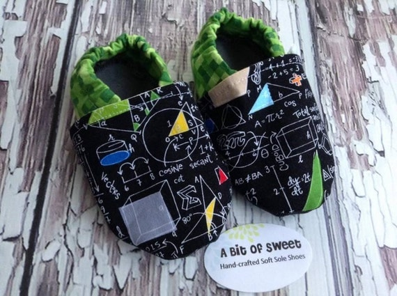Science Geek Soft Sole Shoes Size 12-18m