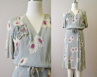 1930s Ladycraft Daisy Dress
