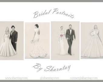 Custom Bridal Portraits