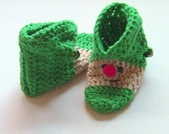 Slippers, ELF Slippers, Leprechaun Slippers, St Pats Booties, Slipper Socks, Booties, Will Make To Order