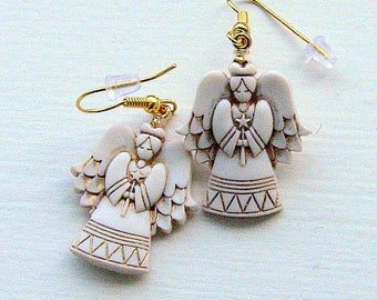 Earrings, Angel Earrings, Earring Angels, Angels, Angel Jewelry, Pretty Angel Earrings
