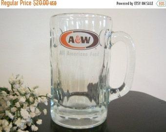 Vintage A & W Root Beer Mug All American Food
