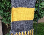 Vintage Hufflepuff Wizarding Scarf