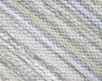 Extra large  Handwoven rag rug -9' x 12' off white, light beige custom color accents, Made to order.
