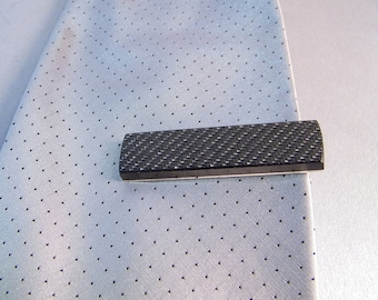 Carbon Fiber Tieclip SHIPS IMMEDIATELY Handmade Carbon Fibre Tie Bar