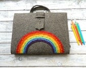 Artist Tote (A/4) with rainbow