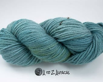 Royal Baby Alpaca Yarn Bulky Weight Hand Dyed Alpaca Yarn OOAK #8