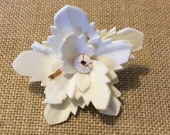 Sola  flowers  -- SET of 12 -- whyeinthyia