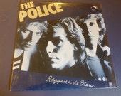 The Police Reggatta de Blanc Vinyl Record SP-4792 Orig. Shrink Wrap 1979 Rare