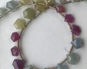 Umba Sapphire Beads- 7 x 8mm