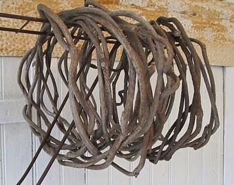 Dried Kudzu Vine (1) for Wreath or Basket Making Supply - Basketry - Craft Supply