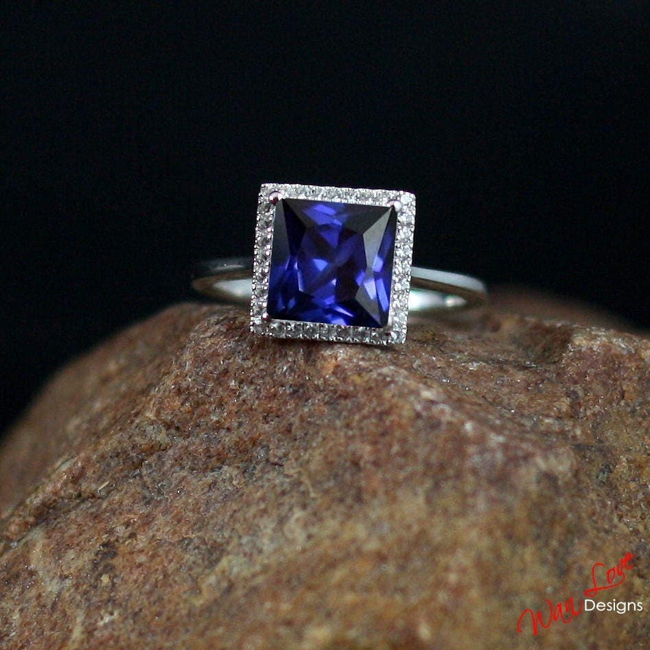 halo cut zoom cushion white il fullxfull listing ring cathedral sapphire engagement