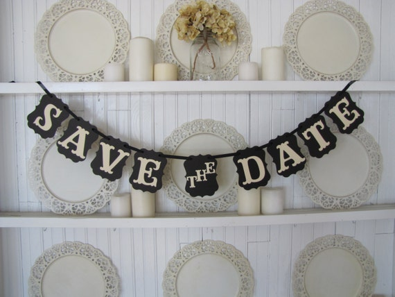 Save the Date Wedding Banner, Engagement photos, Wedding photos, Wedding Announcements, Wedding Sign