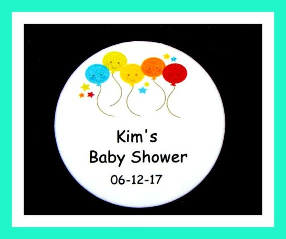Baby Shower Balloon Pins,Personalized Button,Favor Tag,Its a girl,Its a Boy,Party Favors,Birthday Party Favors,Personalized Favors,Set of 10