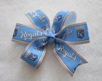 Kansas City Royals hair bow