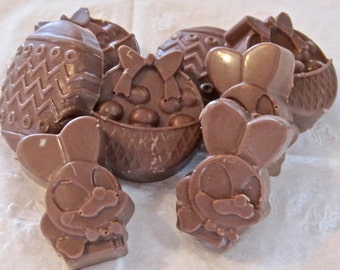 Chocolate Candy Easter Favors, Wedding, Birthday 14 pieces