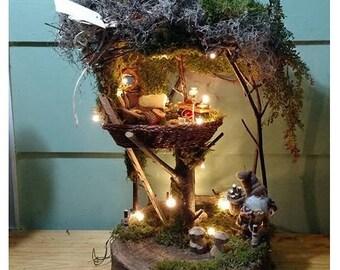 Fairy House - Gnome TreeTop House
