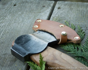 Bushcraft Axe, Woodsman's Axe, Hand Forged Axe, Camp Axe, hiking, outdoors, camping, camp axe, hatchet, forestry